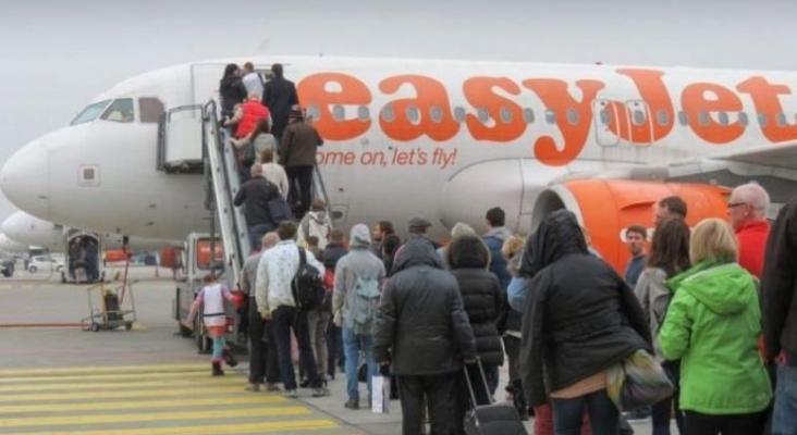 España deja de exigir PCR a los viajeros británicos por la baja incidencia en Reino Unido |Foto EasyJet Media