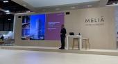 Gabriel Escarrer durante la presentación de Melía Hotels International en Fitur 2021