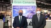 En la imagen, a la izquierda, Antonio Morales, presidente del Cabildo de Gran Canaria, y a la derecha, Carlos Álamo, consejero de Turismo