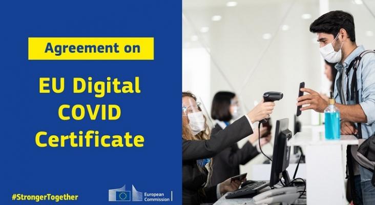 Acuerdo para el certificado Covid: llegará el 1 de julio, sin test gratis y sin cuarentenas