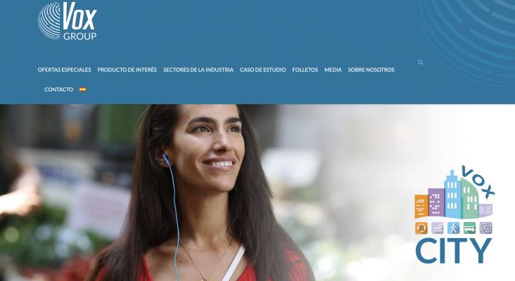 Vox City lanza un nuevo sitio web para comercializar su cartera de turismo global   Captura de voxcity.com