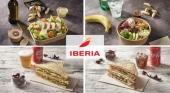 Imágenes de algunos de los diferentes menús que puedes escoger en los menú a bordo de Iberia | Grupo Iberia