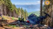 Accidente en Italia Foto Cuerpo Nacional de Rescate Alpino