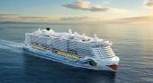 AIDA estrenará su nuevo barco en diciembre con un crucero desde Alemania a Gran Canaria