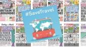 La industria de viajes británica se vuelca en la campaña #SaveTravel