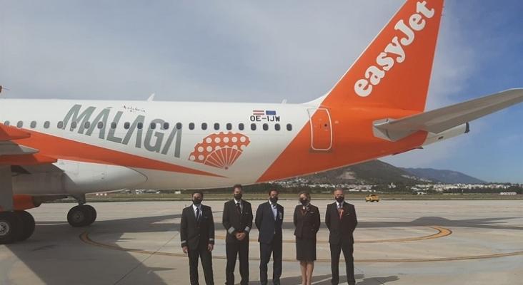 easyJet abre una nueva base en Málaga