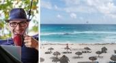 Los destinos turísticos de playa, los hubs para trabajadores remotos que más crecen