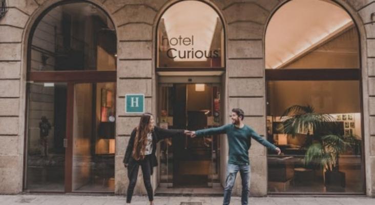 La cadena de Joan Pascual (ex NT Incoming) debuta en la hotelería urbana |Foto Hotel Curious by ALEGRÍA
