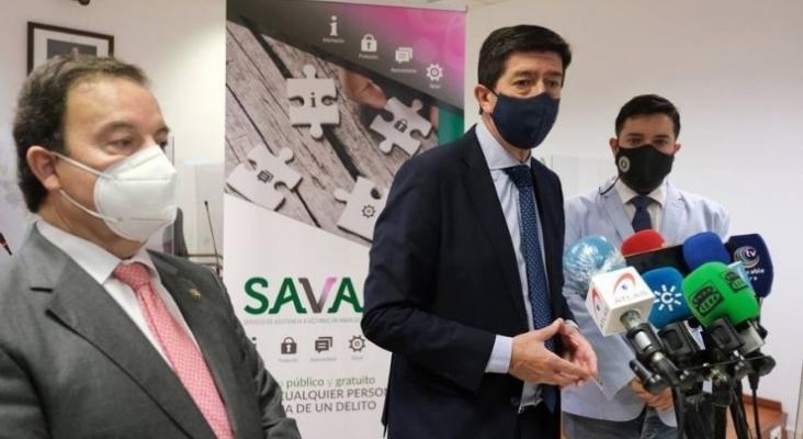 Andalucía pide una tarjeta sanitaria nacional para poder vacunarse durante las vacaciones | Foto vía twitter @JuanMarin Cs