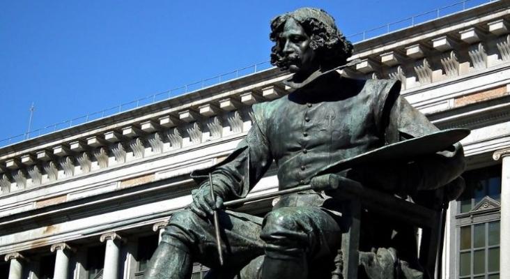 Las candidaturas de España a Patrimonio de la Humanidad de la Unesco | Monumento a Velázquez frente al Museo del Prado | Foto por Tiex, CC BY NC ND 2.0