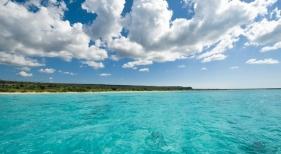 Imagen de la playa de Bucanyé, en la provincia de Pedernales