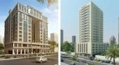 Khalidia Palace Hotel Dubai by Mourouj Gloria y  H.E. Hotel Apartments by Gloria, respectivamente | Imagen gloria-hotels.com