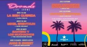 Concept Hotel Group sigue apostando por la música en vivo con su ciclo Dorado Live Shows