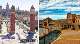 Barcelona y Sevilla crean una alianza para promocionarse internacionalmente