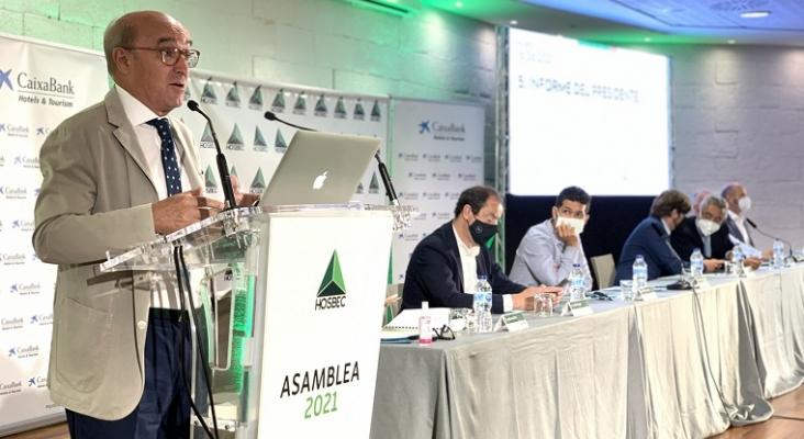 Hosbec espera un segundo semestre de 2021 con el 50% de la actividad de 2019 en el sector turístico