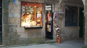 Tienda de Souvenir Santiago de Compostela | Foto: Alquiler de Coches (CC BY 2.0)