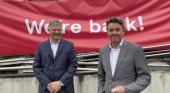 Jacob Schram, CEO saliente y Geir Karlsen, nuevo CEO de Norwegian Air Shuttle | Foto: Yahoo Finance