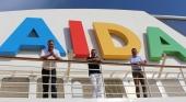 Alexander Ewig, vicepresidente sénior de Marketing y Ventas directas Comercio Electrónico de AIDA Cruises, Thomas Bösl, director gerente de RTK, y Uwe Mohr, vicepresidente de Ventas de la naviera