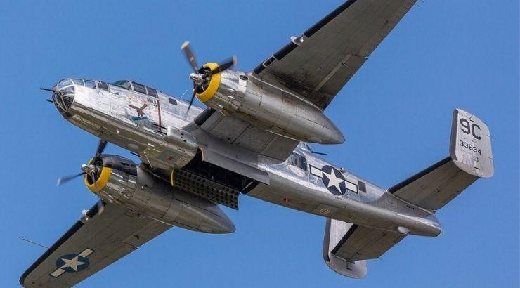 Bombardero de la Segunda Guerra Mundial.