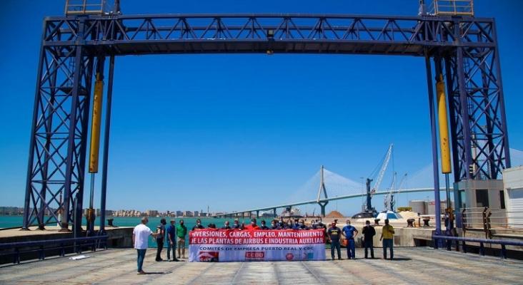 Boeing no extenderá su contrato con la planta del CBC de El Puerto de Santa María (Cádiz) | Foto: Autoridad Portuaria de la Bahía de Cádiz / Puerto de Cádiz