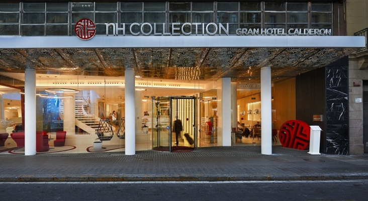 NH Collection Gran Hotel Calderón Fachada