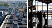 España vive su fin de semana pico 4,4 millones de desplazamientos en coche y 13.200 vuelos