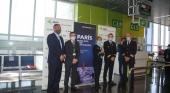 Recepción de la tripulación del nuevo vuelo de Air France de París a Gran Canaria Foto Aena
