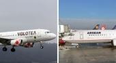 Volotea y la griega Aegean Airlines firman un acuerdo de código compartido | Fotos: Dawlad Ast (CC BY-NC-SA 2.0) / Felix Gottwald (CC BY-SA 3.0 DE)