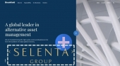 Gestora de activos canadiense a punto de comprar la hotelera española Selenta. Foto de Selenta Logo & landing page de la web Brookfield.com
