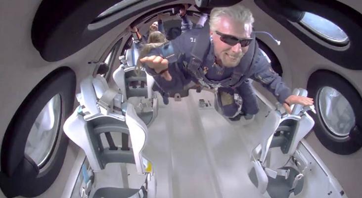 Richard Branson turismo espacial