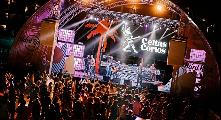 En la imagen, prueba piloto del ocio nocturno de Ibiza en el Hard Rock Hotel, que se saldó sin ningún contagio | Foto: Hard Rock Ibiza
