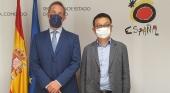Fernando Valdés, secretario de Estado de Turismo, y James Liang, presidente ejecutivo y cofundador de Ctrip