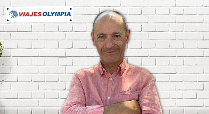 José Luis Túnez, director comercial de Viajes Olympia