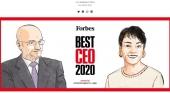 Escasa presencia del turismo entre los 50 mejores CEO de España según Forbes. Foto de Forbes España. Forbes.es