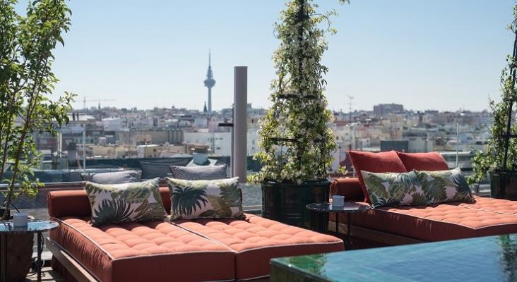 Terraza del hotel Bless Collection de Madrid