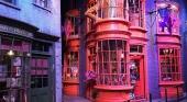 Set de rodaje del Callejón Diagon de Harry Potter en Londres (Reino Unido)