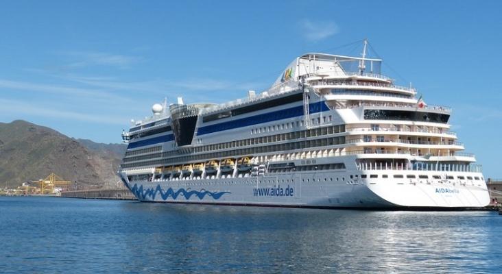 Crucero de AIDA en Tenerife