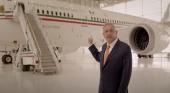 El presidente de México ofrece el avión oficial para fiestas y viajes de boda
