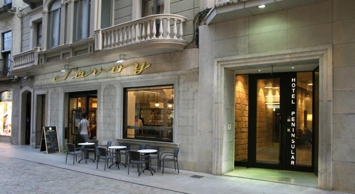 Cataluña alquila cinco hoteles para aislar a turistas contagiados o personas en cuarentena   Foto: Hotel Peninsular (Girona)