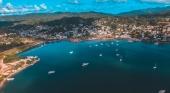 Vista aérea de Samaná, República Dominicana
