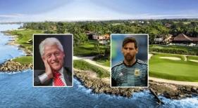 Leo Messi y Bill Clinton, de vacaciones en R. Dominicana