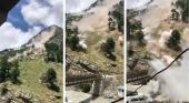 Al menos 9 turistas fallecidos en un derrumbamiento de un puente en India