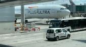 Plus Ultra en el aeropuerto de Adolfo Suárez Madrid-Barajas | Foto: Tourinews