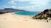 Andalucía presume de sus mil kilómetros de costa este verano. Bolonia, Cádiz.