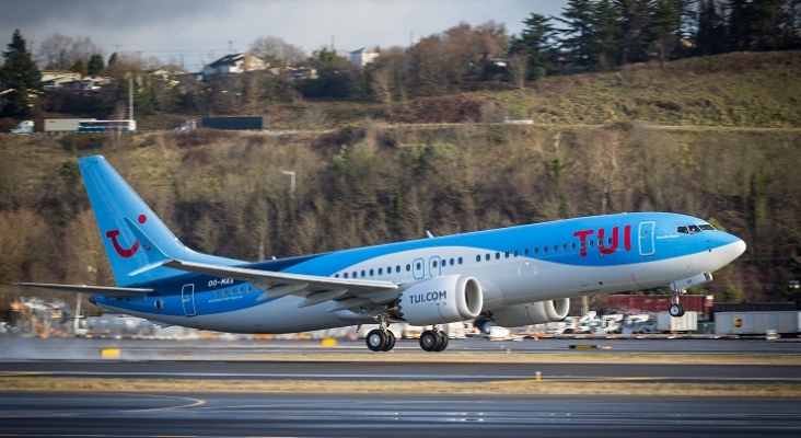 Boeing 737 MAX de TUI Foto: TUI