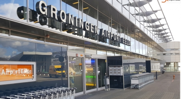 Aeropuerto de Groningen Eelde Foto Groningen Eelde