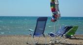 Utensilios ubicados en primera línea de playa