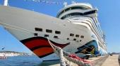 El AIDAStella en el puerto de Palma Foto AIDA