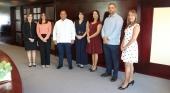 Nueva directiva de ANDRI: Analíe Prieto, vicepresidenta; Joan Flaquer, secretaria; Ney Deschamps, presidente; Josefina Curiel, vocal; Emilia Rosario, vocal; José Miguel Soriano, tesorero y Donnys Suncar, vocal