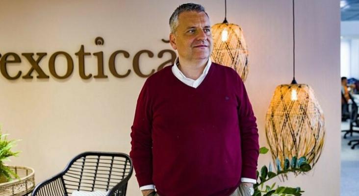 Pere Vallés, CEO Exoticca Foto EU Startups